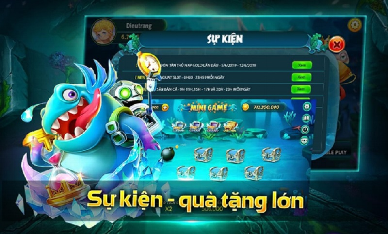 game Dzo bắn cá