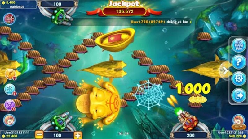trò chơi bắn cá siêu cấp