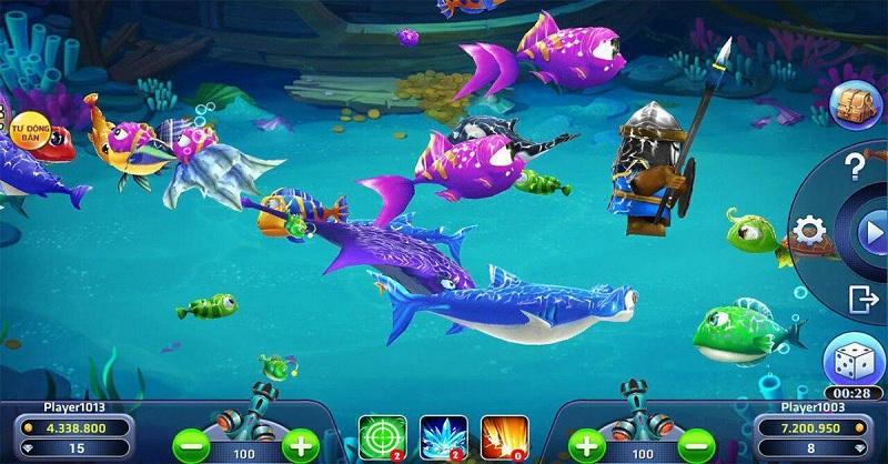 trò chơi liên minh bắn cá