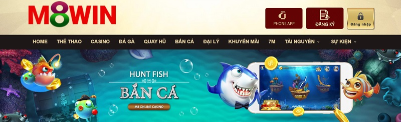 Bắn cá M8win