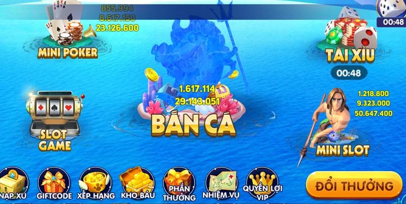 cổng game Bắn Cá 365