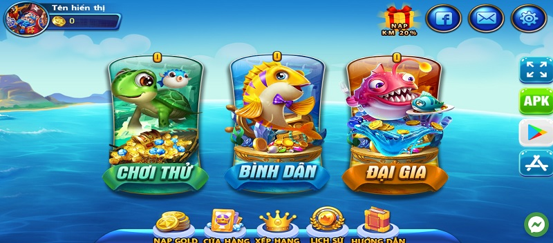 cổng game Ca69