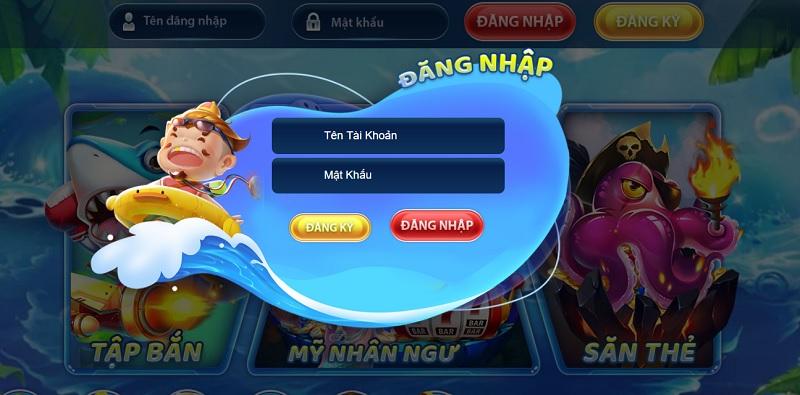 cổng game Vua Hải Tặc
