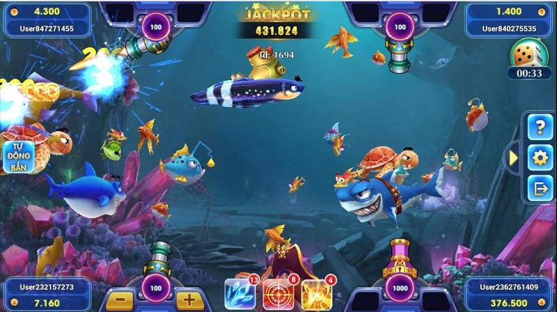 đồ họa Vua Bắn Cá 3D