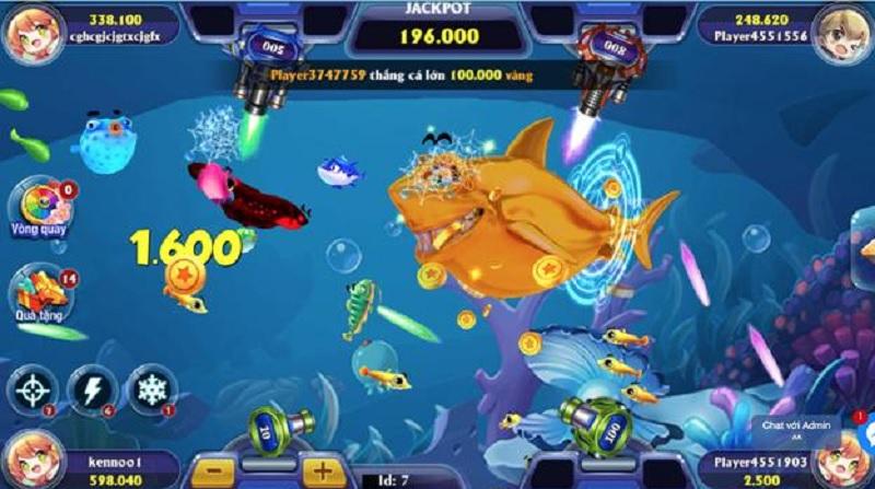game bắn cá 3d