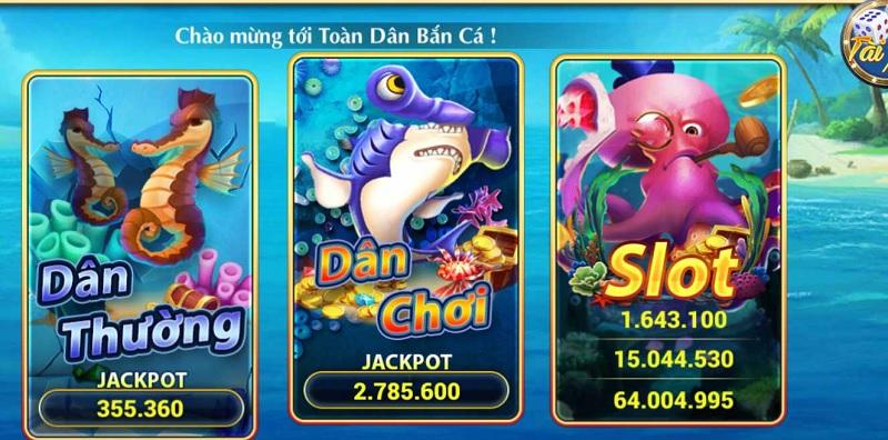 game Toàn Dân Bắn Cá